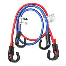 Gepäckspanner -Set (2 Stk.), Haken -verstellbar- elastisch, 2 Längen,Spanngummi