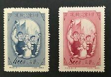 China 1953 7th Trade Union Congress Sc# 185-86 Mnh Set