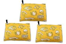 Finex - Set of 3 - Gudetama Egg Yolk Foldable Reusable Tote Recycle Shopping Bag