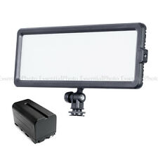 Glowpad 144sb BI-COLOR PORTABLE Video Luci con batteria np-f750