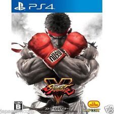 CAPCOM STREET FIGHTER V 5 SONY PS4 PLAYSTATION JAPANESE NEW JAPANZON