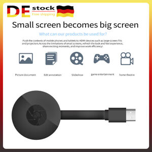 4K HDMI Wireless Display TV Dongle WiFi PC Kabellos Display Empfänger Adapter DE