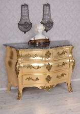 Baroque Dresser Gold Rococo Wardrobe Baroque Kommode Antique Style
