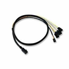 LSI SATA / SAS cable SAS 12Gbit/s 4-Lane 4 x Mini SAS HD SFF-8643 M to SATA (F)