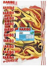 Haribo Yellow Belly Giant Snakes 3kg Fruit Flavour Sweet Soft Foam Gummy Snack