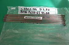 BMW F650 GS G650 GS STOCK RAGGIO CERCHIO RUOTA SPOKE WHEEL FRONT 36312345819