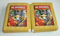 Lego Ninjago Legacy Sticker - 50 Tüten / 250 Sticker - Neu & OVP