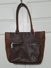 Tignanello Tote Bag Leather Brown