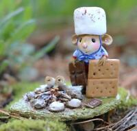 Wee Forest Folk Limited Edition M-537a - S'more Patriotism