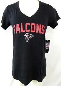 Atlanta Falcons Women Small Medium or Large Screened Falcons Team Tee AFAL 246
