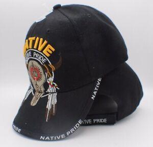 FTTUTY Lakota Sioux Native American Indian Pride Warrior History Adjustable Cotton Baseball Cap