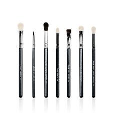 Jessup 7pcs Pro Black Makeup Brushes set Blending Eyeshadow Cosmetics brushes