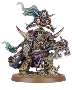 Warhammer 40k Lord of Contagion - Death Guard - Chaos Space Marines
