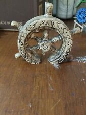 Tankage aquarium Captain wheel Ship Wheel  Decoration made in Japan  Fish bowl
