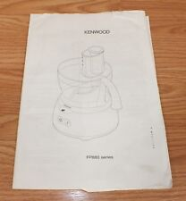 Replacement Manual Only For Kenwood FP880 Series Coffee Makers **READ**