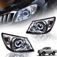 FRONT LAMP HEAD LIGHT PROJECTOR LED FOR TOYOTA HILUX VIGO CHAMP MK7 2012-2014