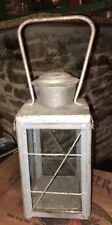 Antique Candle Lantern Lamp HUGE Kerosene Oil