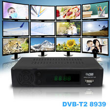 new dvb t2 digital tv receiver with ethernet port iptv youtube wifi dongle
