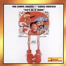 Let's Do It Again by  The Staple Singers CD SPY Curtis Mayfield, Soundtrack