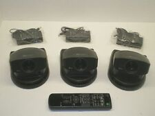 3 SONY EVI-D30 PAN/TILT/ZOOM CAMERAS video conferencing ptz visca control webcam