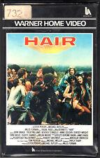 Hair (1979) VHS 1a Ed. Warner Bros.