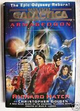 RARE 1997 BATTLESTAR GALACTICA ARMAGEDDON HB/DJ