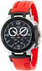 New Tissot T-Race Chronograph Red Rubber Men's Watch T0484172705701