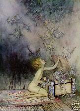 Arthur Rackham Pandora's Box La mythologie grecque Grèce Zeus Print