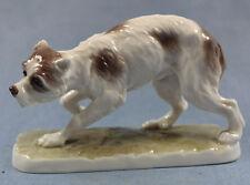zwergschnauzer terrier Hund hundefigur Nymphenburg 1910