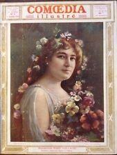 COMOEDIA ILLUSTRE 1909 N 1 Mlle MARIE VUILLAUME