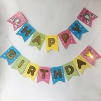 Unicorn Birthday Banner, Unicorn Theme Party, Happy Birthday Decorations, USA