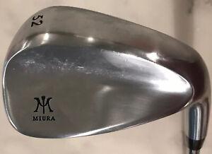 EUC MIURA FORGED Tour 52° Degree Wedge w/ Rifle Project X 6.5 Shaft & Golf Pride