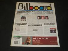 2001 JULY 7 BILLBOARD MAGAZINE - GREAT VINTAGE MUSIC ADS & CHARTS - O 8032