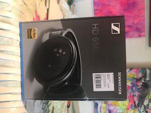 Sennheiser HD 650 Over the Ear Headphones - Black