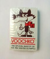 Sealed Vintage Voochko 94 Winter Olympics Playing Cards Sarajevo 84'