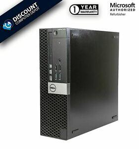 Dell OptiPlex 7050 Core i5 HDMI Desktop Computer 8GB RAM 500GB HD Windows 10 PC