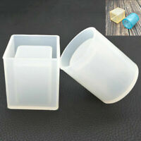 DIY Silicone Mold For Epoxy Resin Brush Pot Round Square Mold Crystal Mould