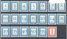 NL Portzegels postfris tussen P80 - P106 Eur 30+