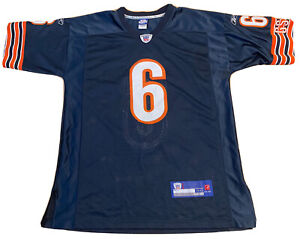 Chicago Bears Jersey #6 Jay Cutler NFL Players Football XL 48 Stitched Reebok
