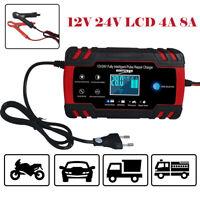 Chargeur de Batterie Voiture Rapide Smart Indicateur Pour Auto/Moto 4-8A/12v 24V
