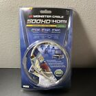 Monster HDMI Cable Gold Plated 3.28 ft MC500HD-1M Beige BRAND NEW SEALED
