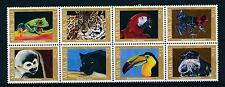 [AR726] Aruba 2013 Jungle Animals Panter Parrot Frog  Monkey Bird MNH