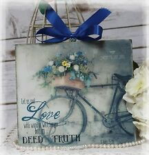 "Vintage ""SWEET TO THE SOUL""~Shabby Chic~Country Cottage style - Wall Decor Sign"