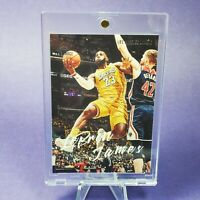 Lebron James SILVER PRINT EDITION PANINI LUMINANCE LAKERS - INVESTMENT - MINT