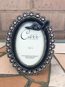 """Carr Oval Freestanding Picture Frame 2"""" x 3"""""""