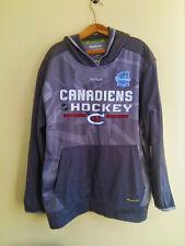 Reebok Montreal Canadiens Hockey NHL Grey Hoodie Mens Size: XL