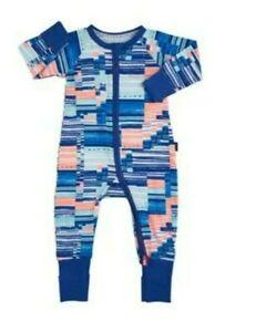 RARE NEW BONDS Blue Shades Tech Like Digitribe Zippy Wondersuit - Size 3