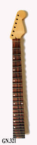 Free Logo-Dot Inlay Handmade-Solid Maple Electric Scalloped Guitar Neck GN321