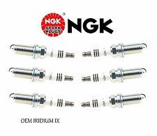 6 New OEM IRIDIUM IX LFR5AIX-11 Premium Spark Plugs For Nissan 350Z