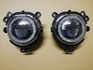 MINI COUNTRYMAN Front LED Fog Lights Pair F60 2017-ON LEFT AND RIGHT GENUINE